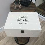 Personalised Special Grandad ANY NAME Sweets Biscuit Treats Box VERY LARGE Gift